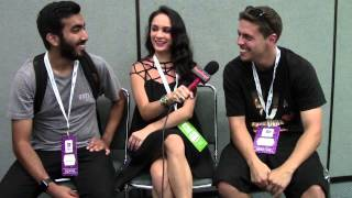Zach Piona And Wahlid Mohammad Interview With Alexisjoyvipaccess - Vidcon 2015