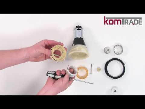 melitta caffeo ci flowmeter austauschen anleitung d. Black Bedroom Furniture Sets. Home Design Ideas