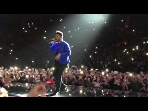 The Weeknd  All I Know  Stockholme Globe 2017, entrance song