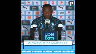 "Mandanda ""content de retrouver"" Benzema chez les Bleus"