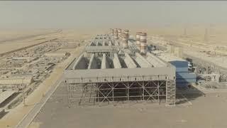 مصر بتتقدم لينا.. مصر بتتقدم بينا | محطة كهرباء العاصمة الإدارية الجديدة