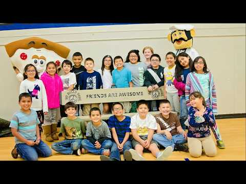 """""""Friends Are Awesome"""" at Le Grand Elementary School"""