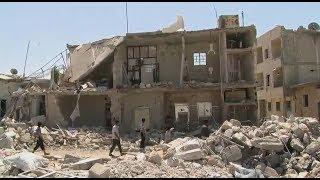 أخبار عربية   النظام السوري يقصف #جوبر بالكيماوي