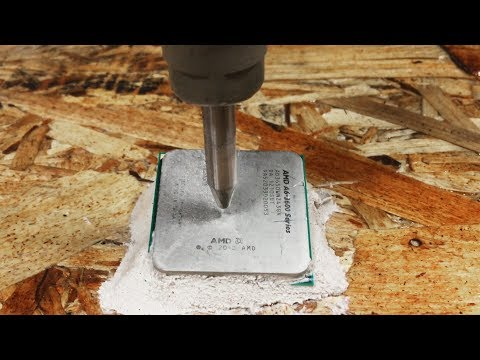 Thumbnail: Inside A Computer Processor With A 60,000 PSI Waterjet