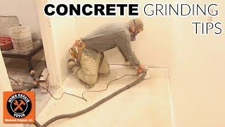 How to Safely Grind Concrete Floors (Quick Tips)