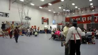 KD Edwards Gourd Dance & PowWow @ Bernalillo High School Clip 2