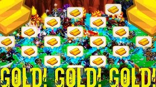 Monster Legends - How to Get Gold Fast | Legendary Gold Farming