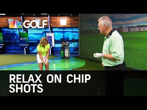 Relax on Your Chip Shots - School of Golf | Golf Channel