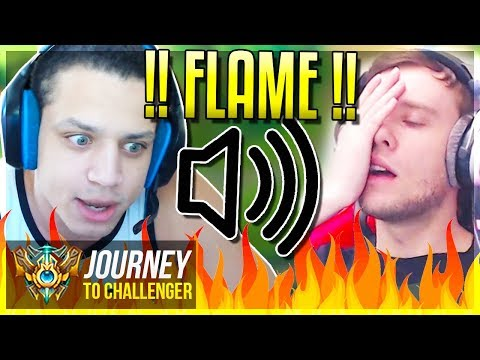 IF SOLO QUEUE HAD VOICE CHAT ON ft TYLER1 - Journey To Challenger  League of Legends
