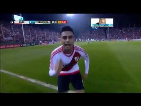 Gol de Pity Martínez - River 2 - 1 Estudiantes (San Luis) - Copa Argentina 2016