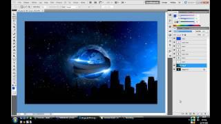 Photoshop CS5 - PC background Speed Art | JOEE