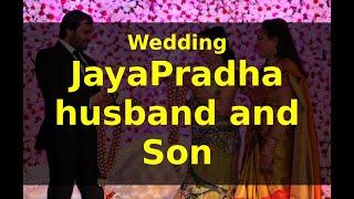 JayaPradha :husband Srikanth Nahata and Sons wedding Pics