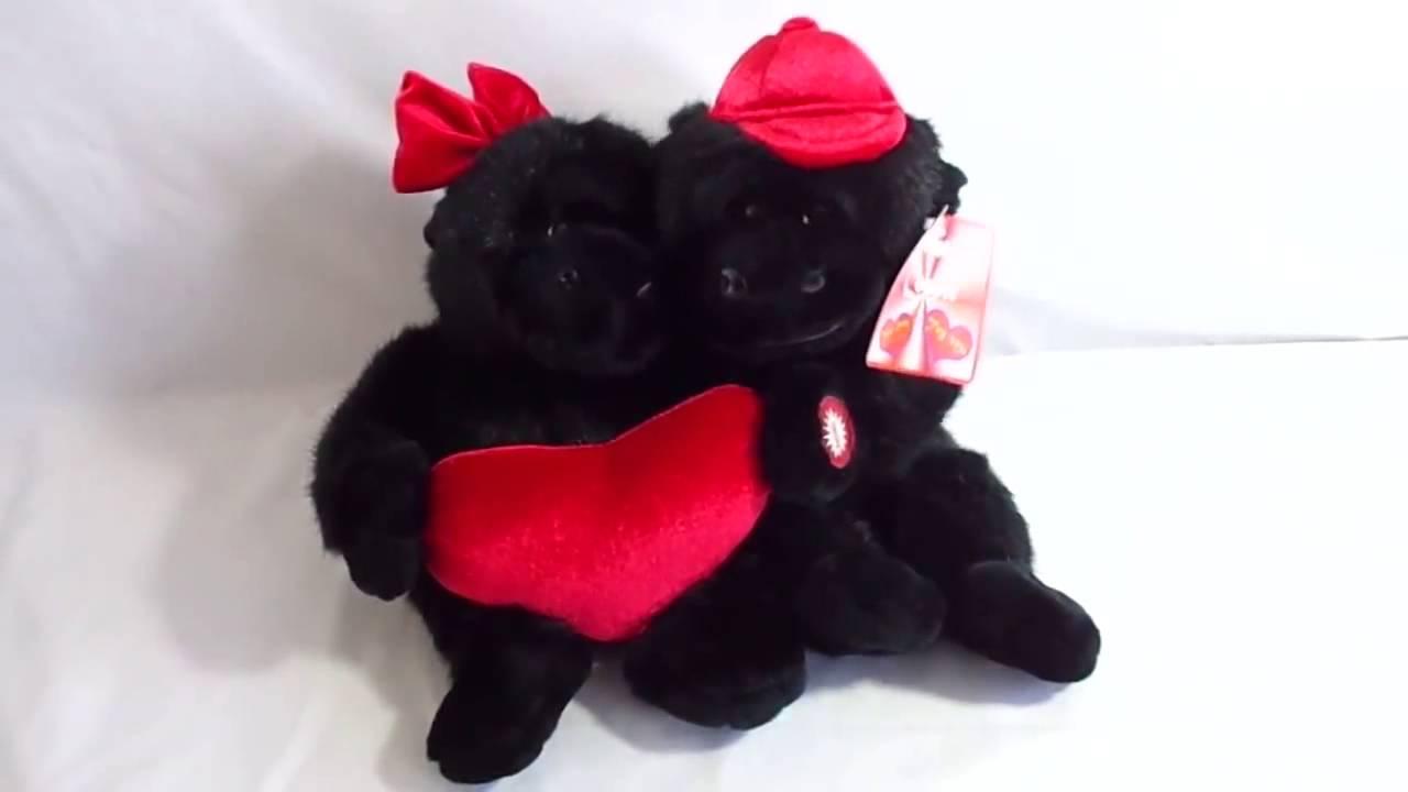 Valentine Gorilla Couple Plush Sing We Got You Babe YouTube