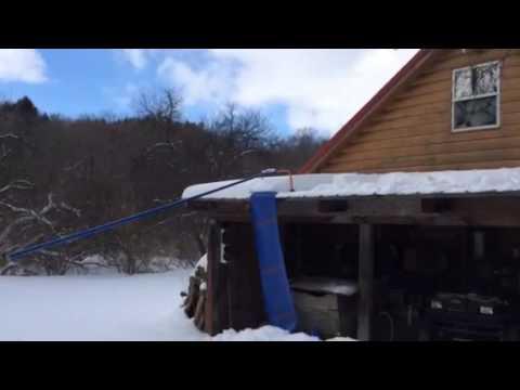 Avalanche Roof Rake Youtube