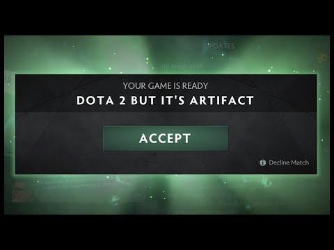 Dota 2 But It's Artifact thumbnail