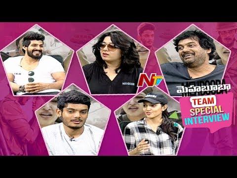 Mehabooba Team Exclusive Interview    Puri Jagannadh    Puri Akash    Neha Shetty    NTV
