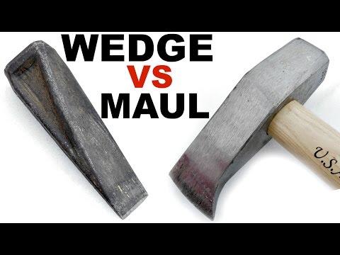 Which Splits Firewood Best?