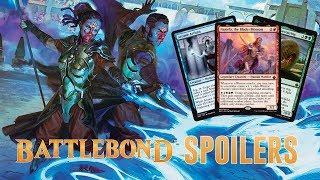 Daily Battlebond Spoilers — May 24, 2018 | 5C Warrior Commander, Legendary Wurm