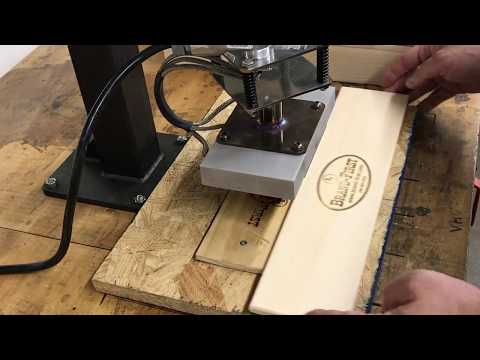 Pneumatic Branding Machine by Brand-First