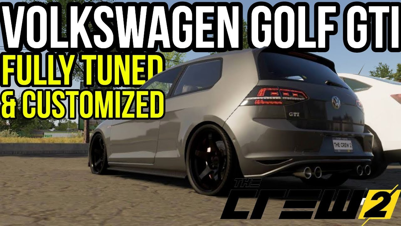 the crew 2 vw golf gti customization fully tuned. Black Bedroom Furniture Sets. Home Design Ideas