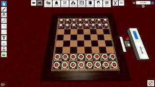 Как играть в русские шахматы таврели онлайн в Tabletop Simulator