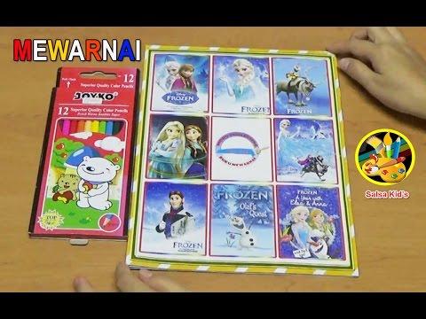Belajar Mewarnai Gambar Olaf's Quest 💛 Creative Colors For Kids