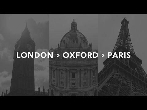 LONDON--OXFORD--PARIS