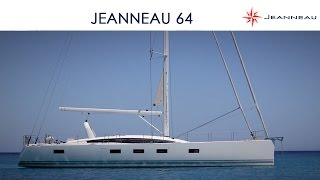 Jeanneau 64 sailing in Corsica - Super Yacht Style - by Jeanneau