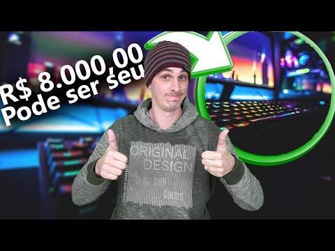 COMO GANHAR UM PC GAMER DE GRAÇA?  #SORTEIO