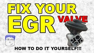 How to FIX / clean / REFURBISH your EGR Valve PO401