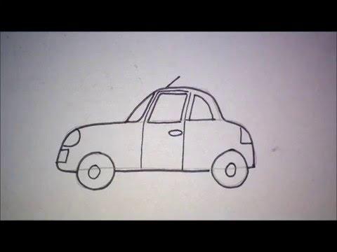 Hoe Teken Je Een Auto How To Draw A Car Youtube