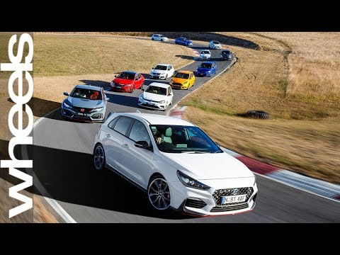 2018 Hot Hatch Megatest Wheels Australia