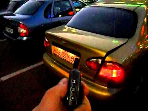 Lanos Установка газовых упоров крышки багажника Недорогой способ .