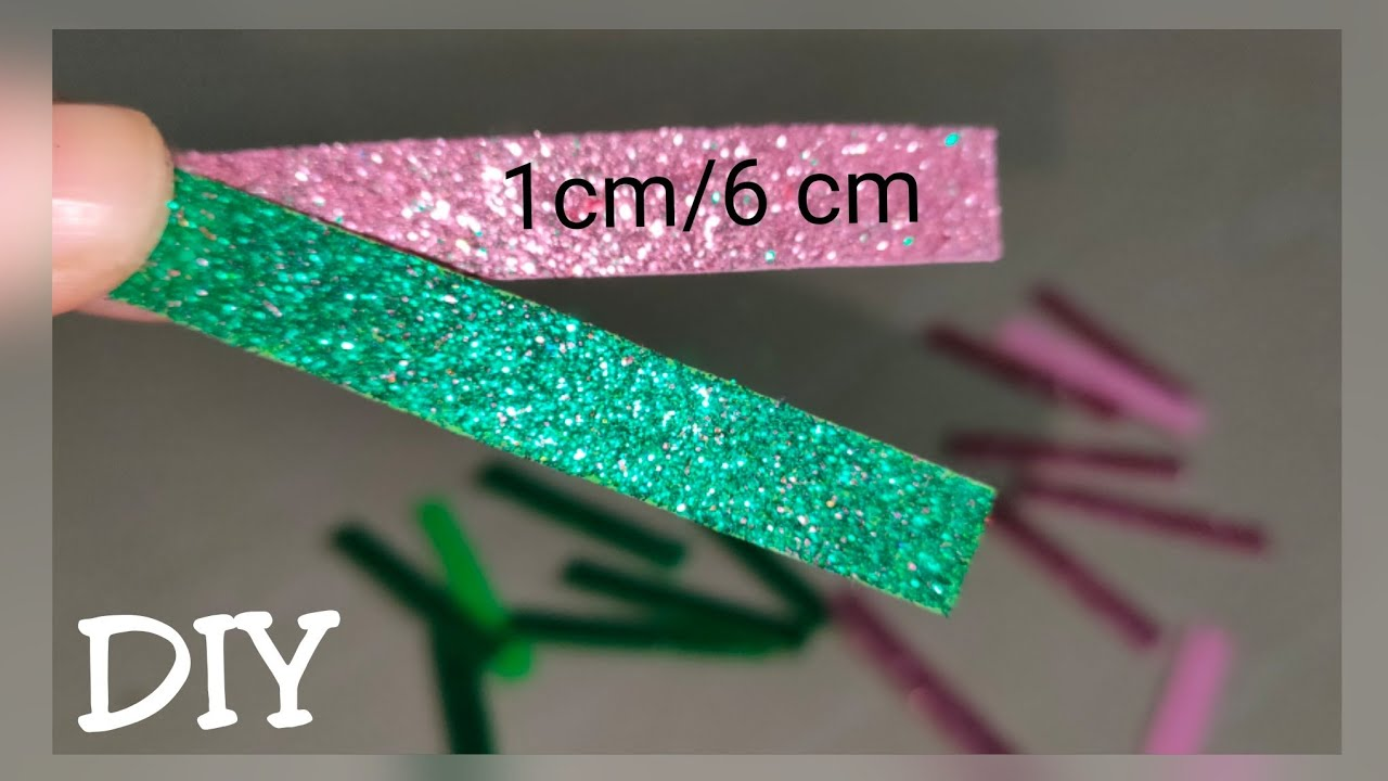 Glitter foam sheet craft/Christmas decoration 2019/Christmas Craft/Christmas Ornaments/DIY ...