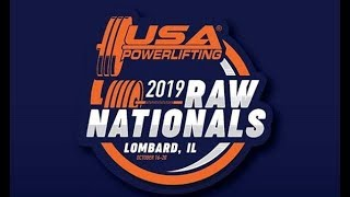 USA Powerlifting Raw Nationals - Prime Time - Wednesday