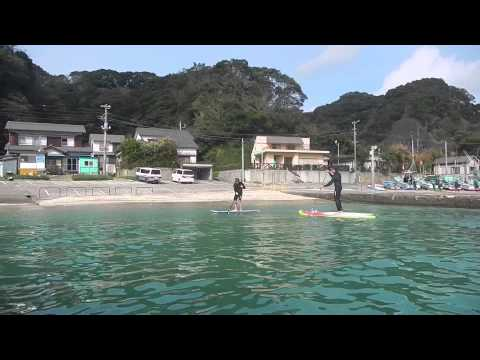 Happy SUP Katsuura 2nd November 2014 Travis Riana and Mark