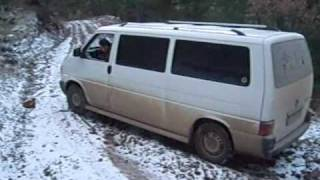VW Transporter t4 geometri burnout cutout drift off-road vs.