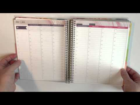 Erin Condren Vertical Weekly Layout Life Planner Unboxing Vally