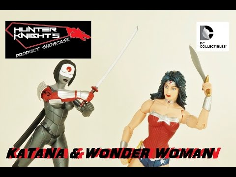 Showcase Review: KATANA WONDER WOMAN 2 pack Dc Collectibles action figures