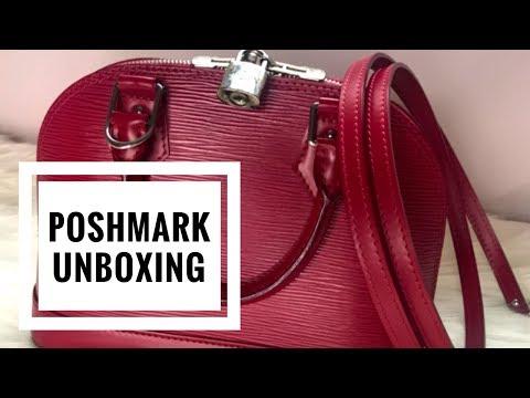 BAKING SODA IN MY LOUIS VUITTON BAG!? | Poshmark Unboxing