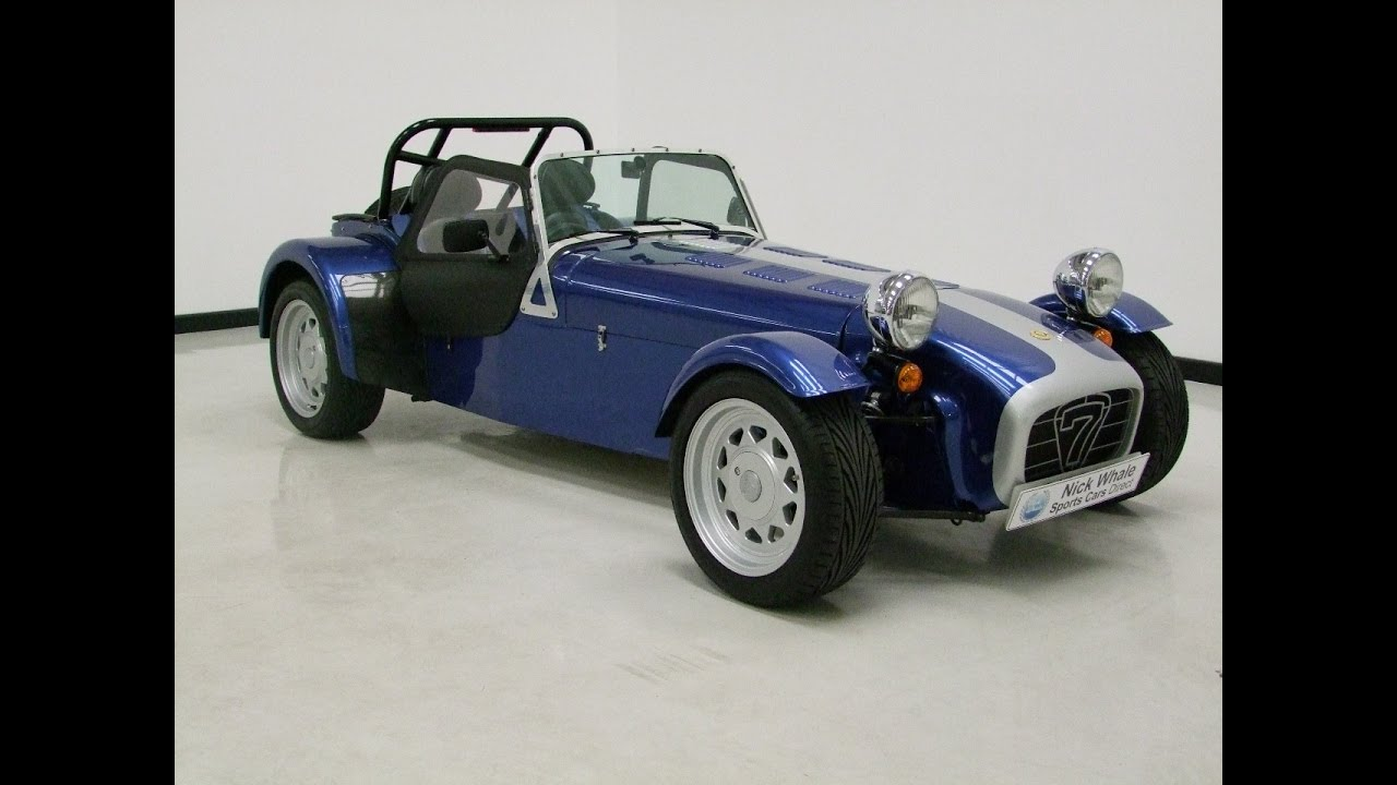 For sale  Caterham 7 18 Supersports KSeries 140ps  Nick Whale