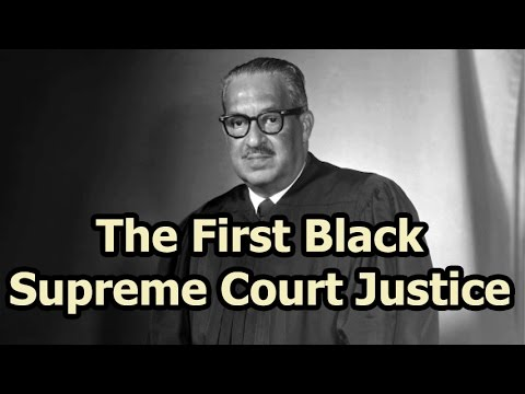 On This Day - 30 August 1967 - The First Black Supreme Court Justice Was Confirmed
