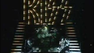 "Song 1 Kiss Alive II Detroit Rock City   - APR.2,1977 ""BUDOKAN HALL"""