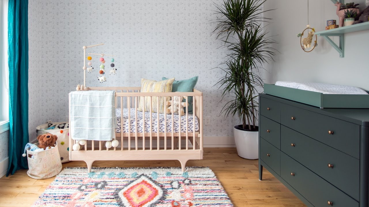 Room Tour: A Nursery Designed To Grow With Baby - YouTube