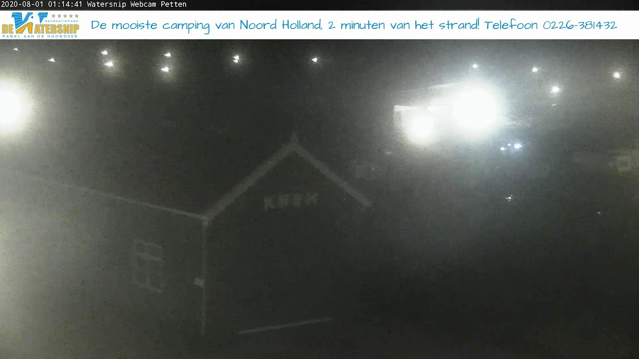 Zwembad Petten Webcam Recreatiepark Watersnip