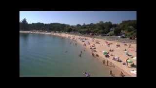Playa Cabío  y Camping Ría de Arosa.mp4