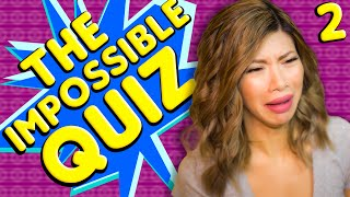 WHY DO I DO THIS TO MYSELF - The Impossible Quiz Pt2