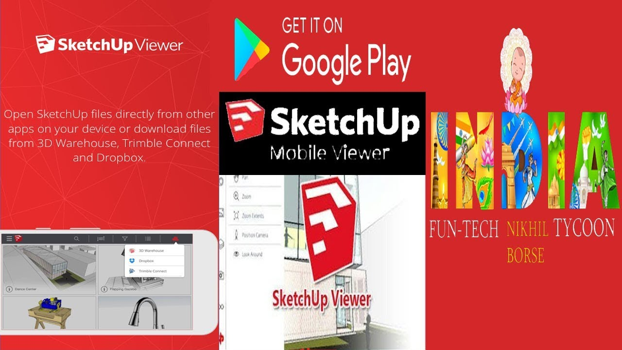 Sketchup Viewer Mobile App Guide Youtube