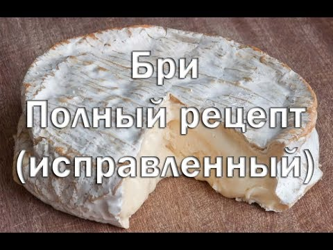 Видео рецепт сыра бри 9