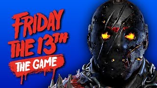 NEW SAVINI JASON!   Friday The 13th: The Game - How To Kill Jason (ft. Friends)